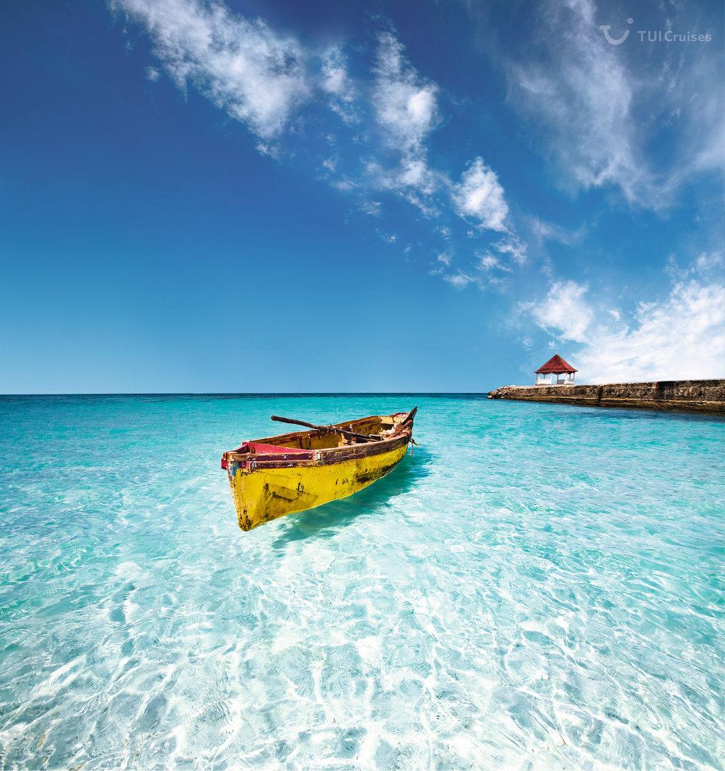 Traumhafte Bucht auf Jamaika