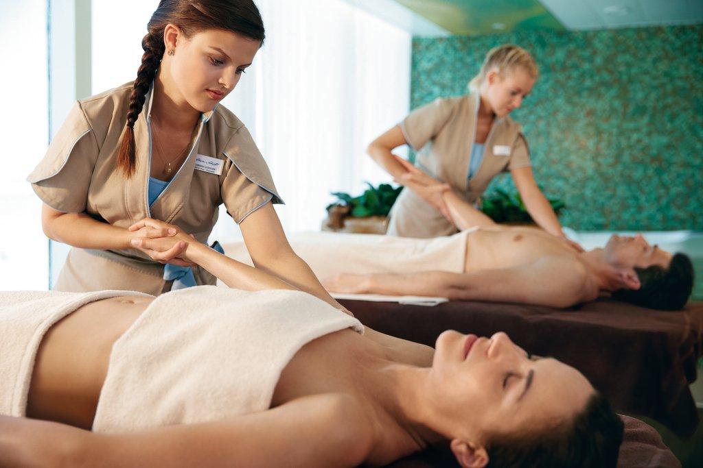 Entspannung pur: Massage auf der Mein Schiff 2 von TUI Cruises