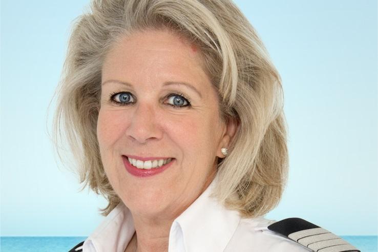 Die General Managerin der Mein Schiff 3: Susanne Hazenberg