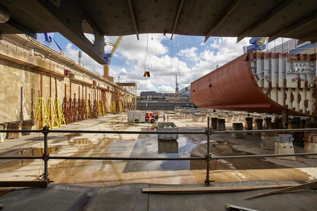 Kiellegung der Mein Schiff 5 von TUI Cruises (c) Stefan Pielow für TUI Cruises