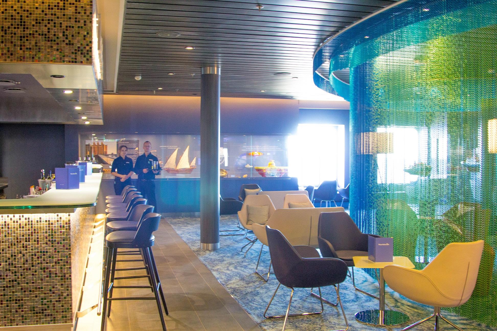 Die neue Meerleben Bar auf Deck 4 der mein Schiff 3