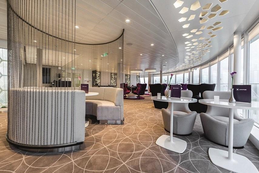 Die X-Lounge auf der Mein Schiff 3