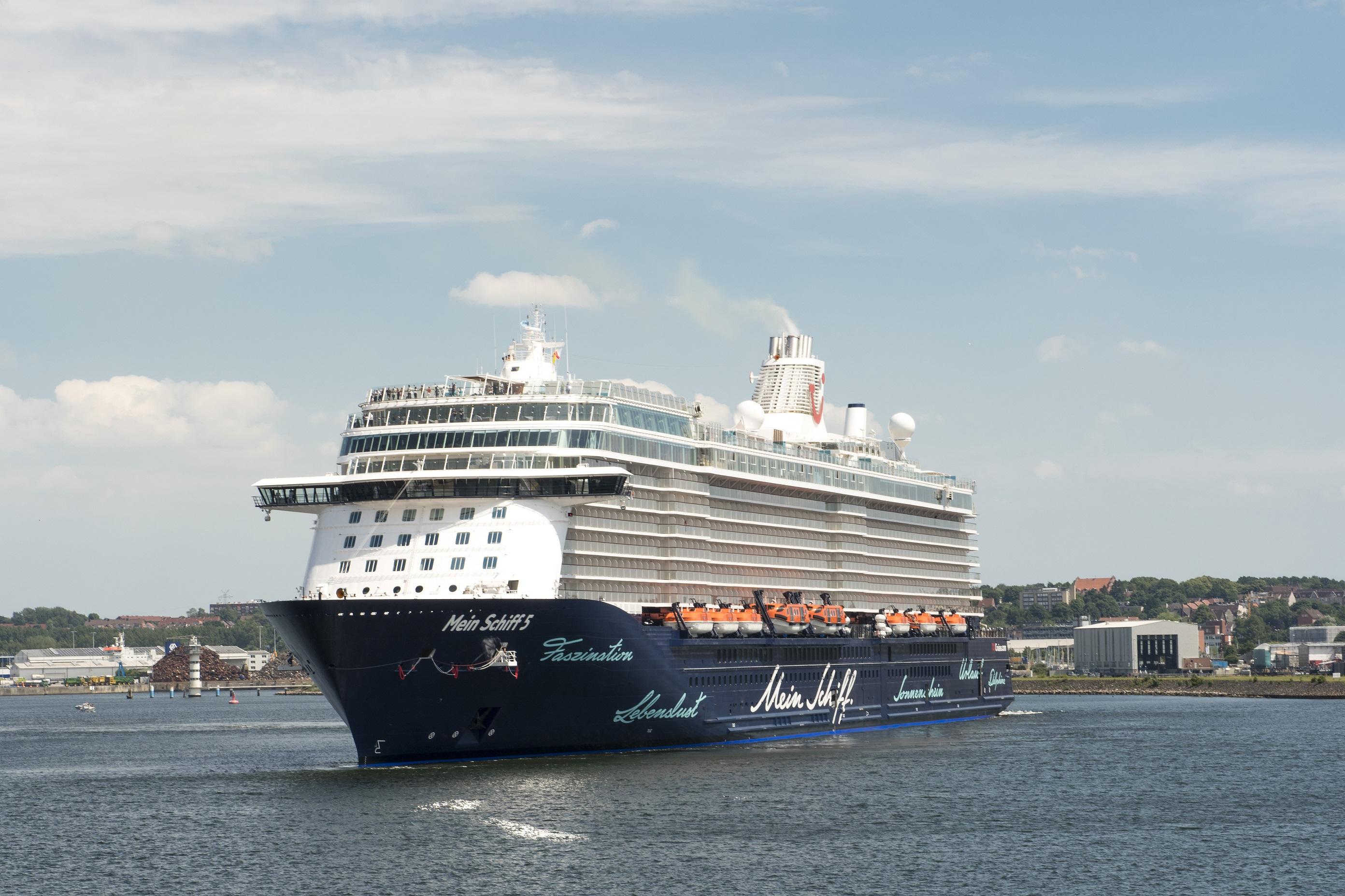 Zum ersten Mal in Deutschland: Die Mein Schiff 5