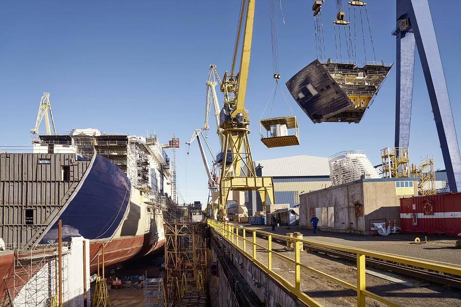 Modul für Modul: Mein Schiff 5 wird gebaut