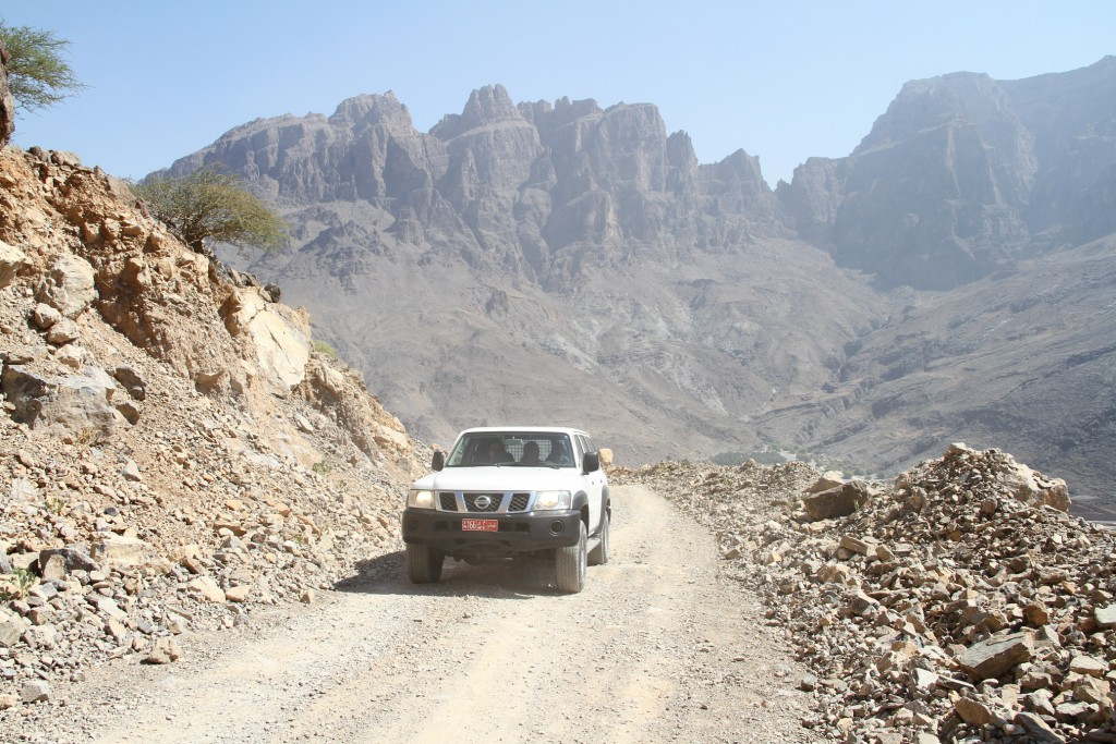 Offroad im Oman