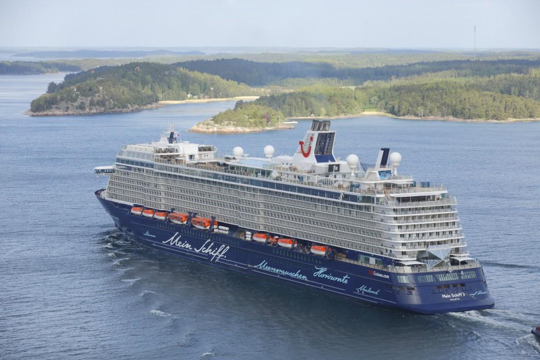 Kurs Richtung Nachhaltigkeit und Umweltschutz: Die Mein Schiff 3 von TUI Cruises