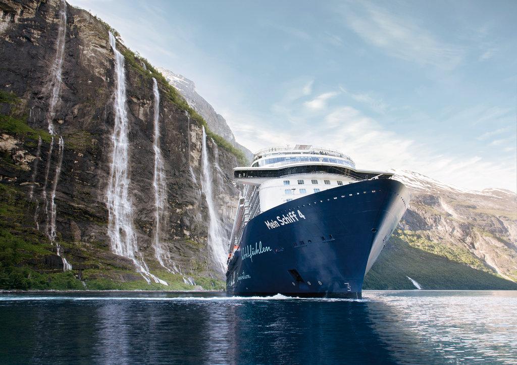 Was für eine Kulisse: Der Geirangerfjord