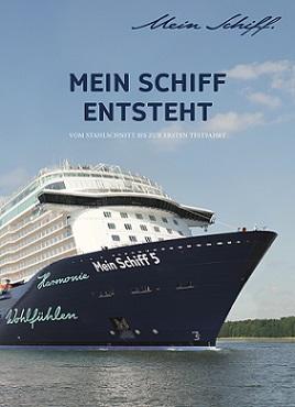 """Das Titelbild des neuen Buches """"Mein Schiff entsteht"""""""