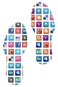 Vorsicht beim surfen im Internet: der digitale Fußbabdruck bleibt