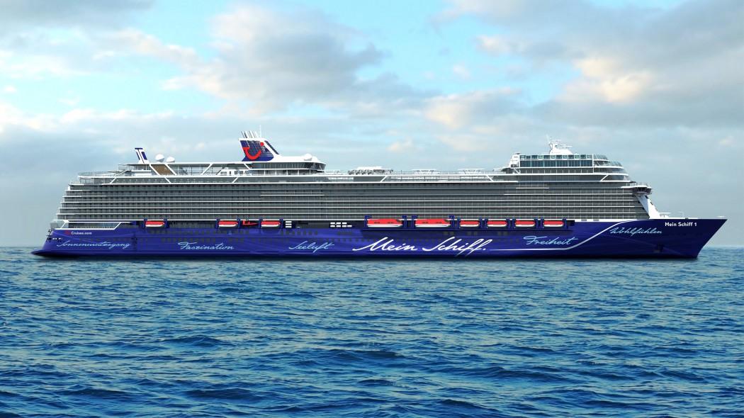 So wird sie ab 2018 die Weltmeere bereisen: Die neue Mein Schiff 1