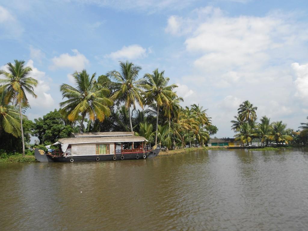 Mein Schiff Ziel: Backwater Tour mit Hausbooten in Cochin