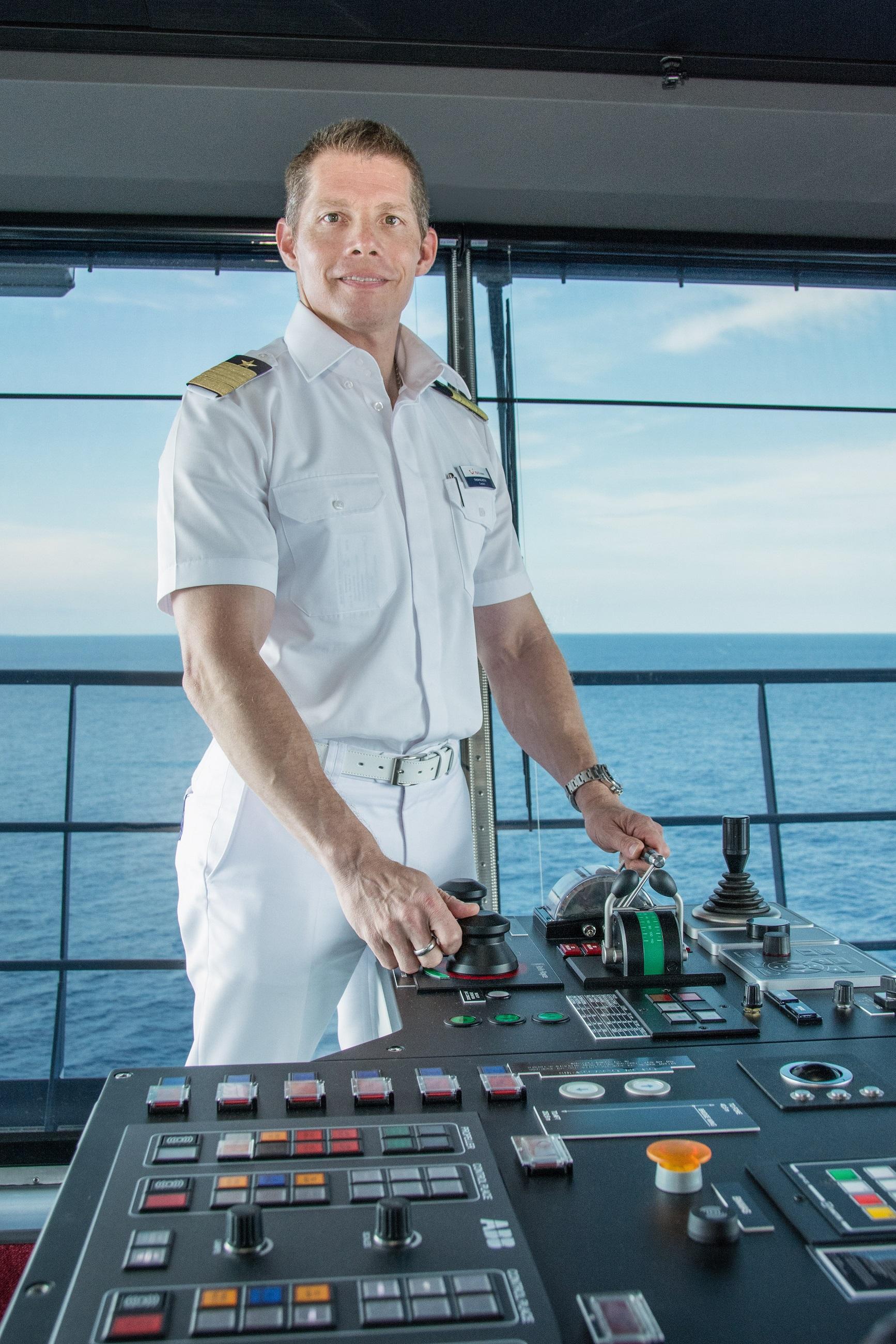 Mein Schiff Kapitän Thomas Roth
