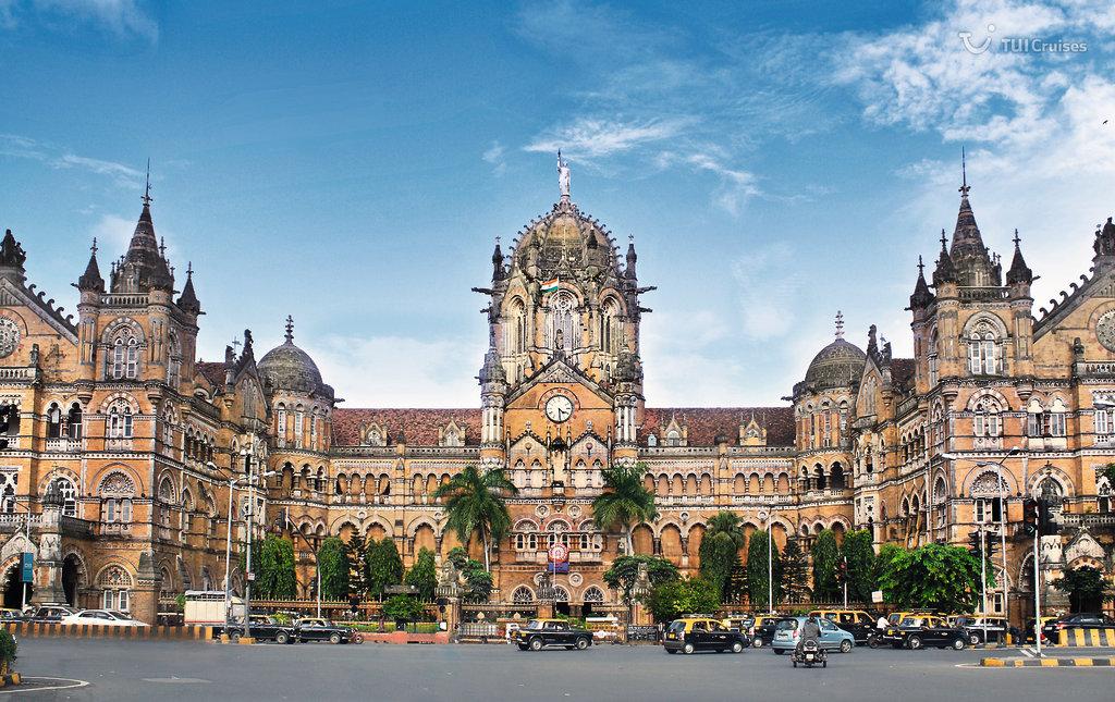 Mein Schiff Ziel: Das Victoria Terminus in Mumbai