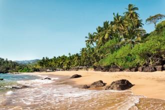 Mein Schiff Ziel: Cola Beach im indischen Süd-Goa
