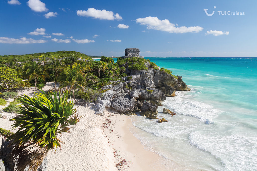 Mein Schiff Sehenswürdigkeit: Maya Monumente in Tulum (Mexiko)