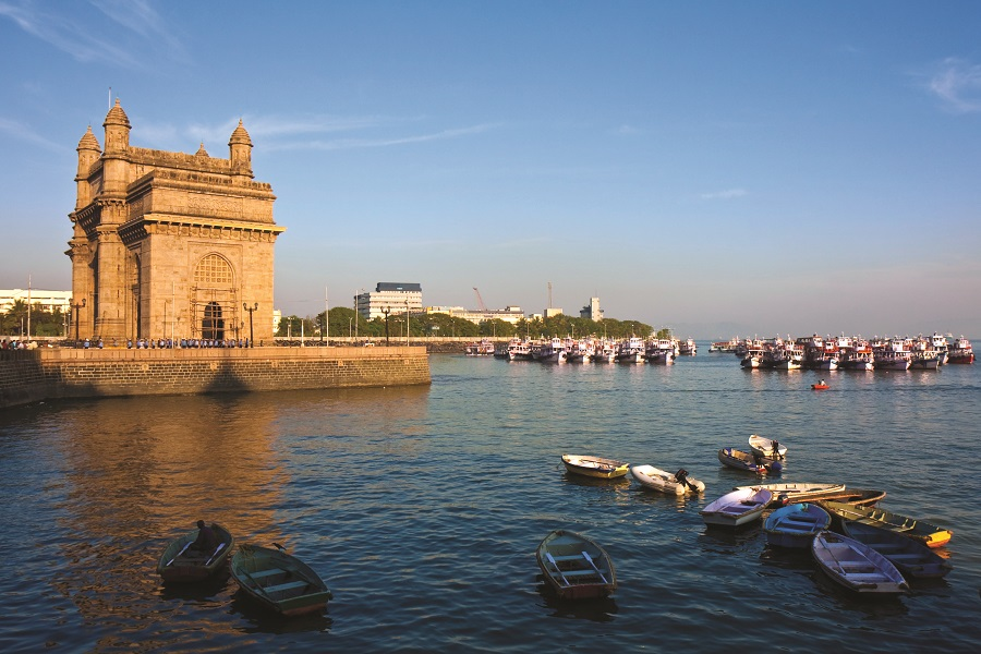 Mein Schiff Ziel: Gateway of India in Mumbai
