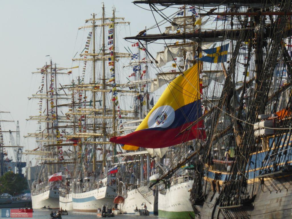 Segelschiffe im Hafen von Bremerhaven (c)Helmut Gross