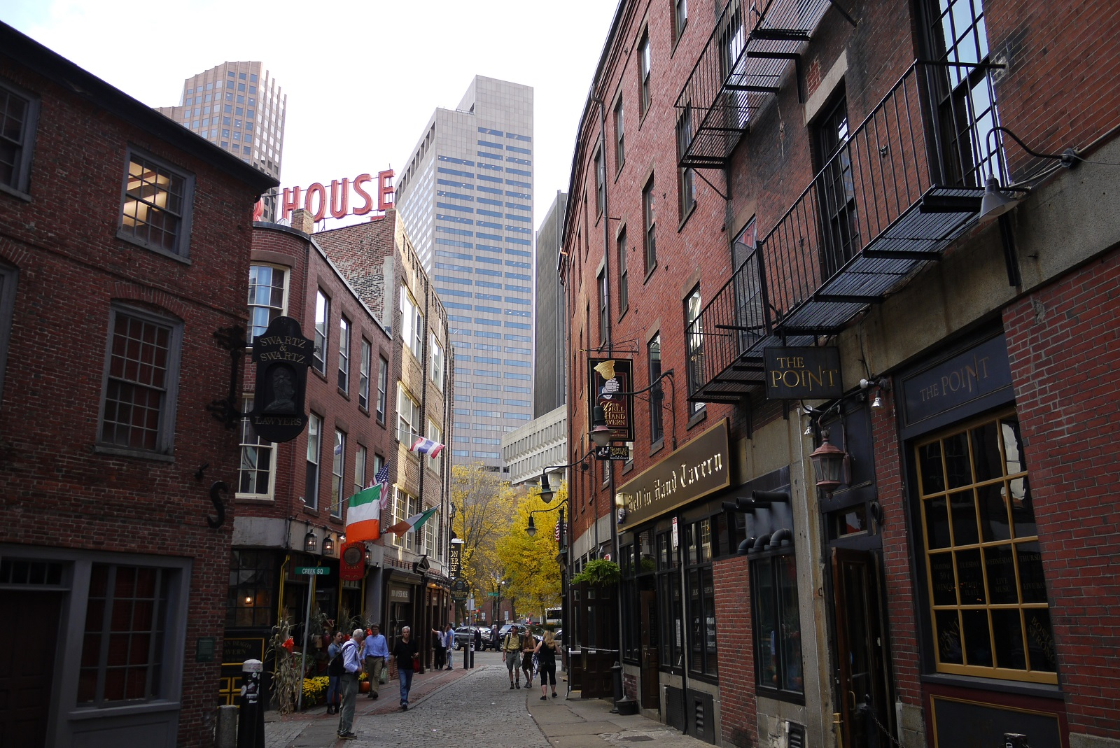 Bostons Little Italy im Stadtteil North End (c) Stefanie Nake
