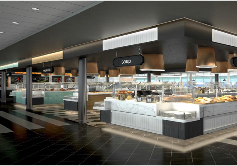 Buffetrestaurant Anckelmannsplatz (c)TUI Cruises