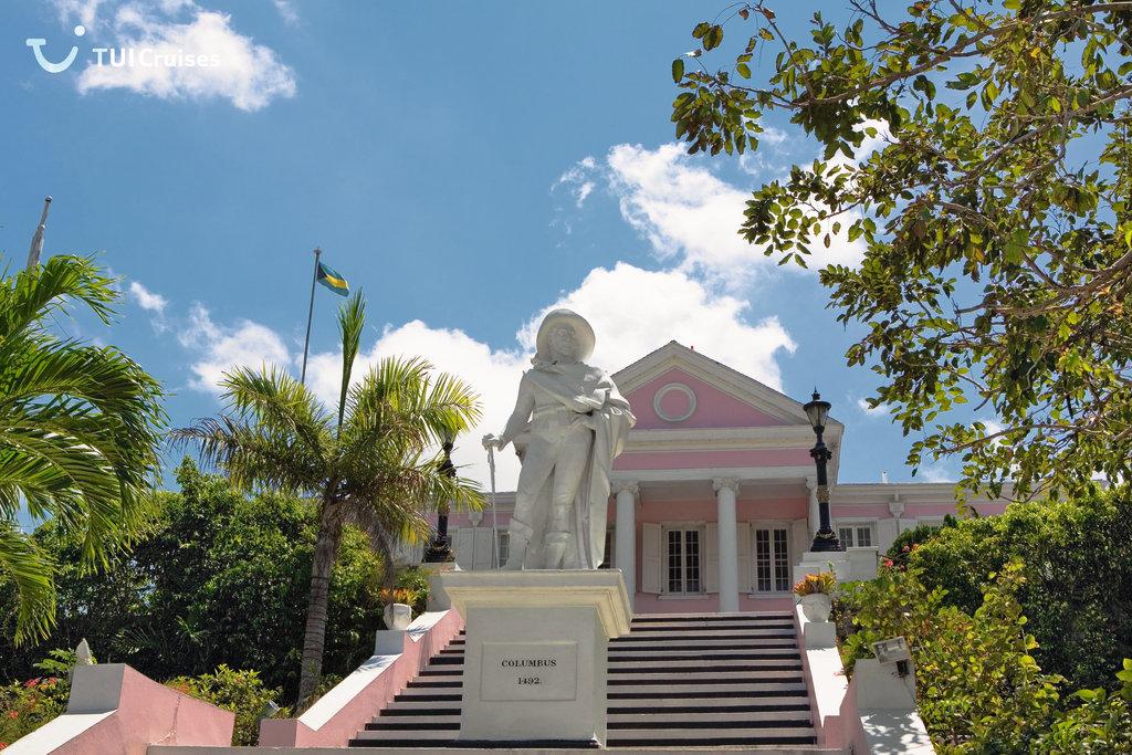 Christoph Kolumbus Statue in Nassau/Bahamas