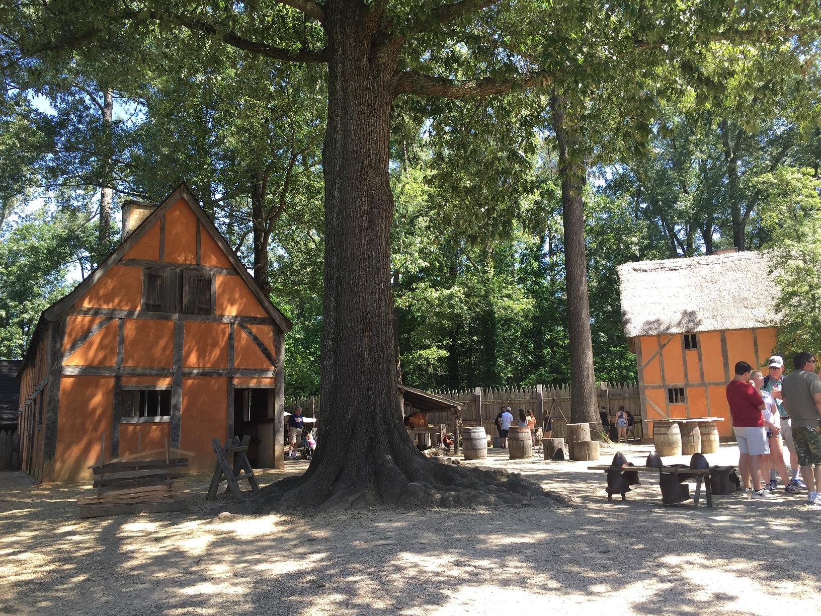 Das Jamestown Settlement