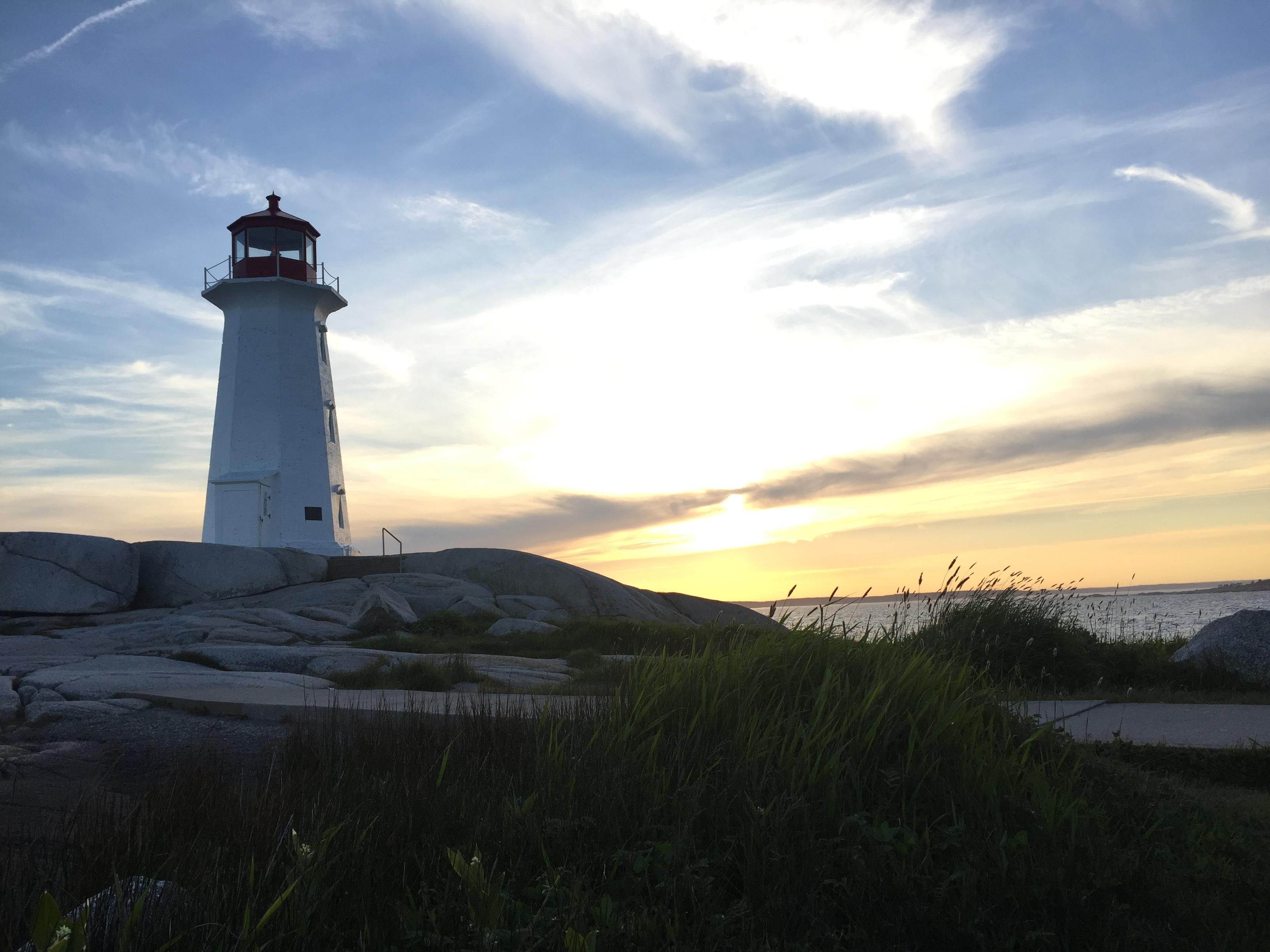 Mein Schiff Sehenswürdigkeit: Peggy's Point Lighthouse (c) Stefanie Nake