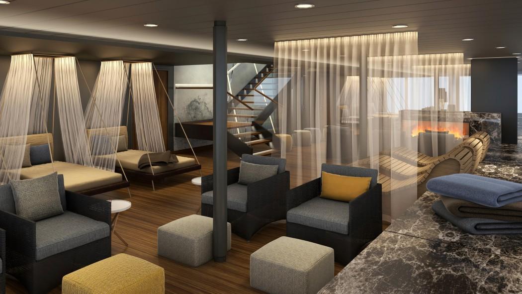 SPA und Meer – Ruheraum (c)TUI Cruises