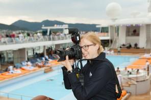Mein Schiff Magazin: Fotoshooting an Bord der Mein Schiff Flotte gewinnen