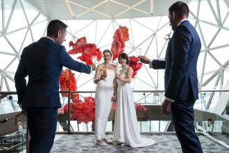 Schwul-lesbische Trauungen sind bei TUI Cruises auf hoher See möglich