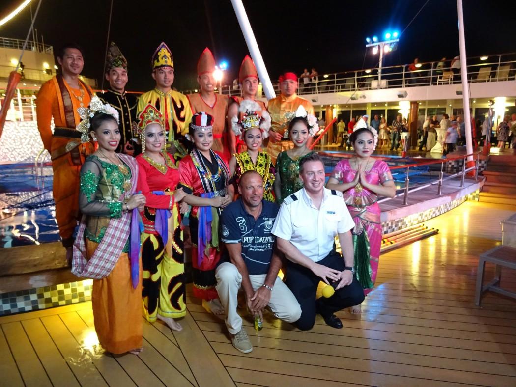 Bernd Nieweg auf Asienkreuzfahrt mit der Mein Schff 1