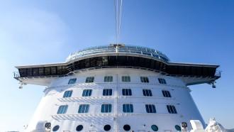 Die Bugansicht der Mein Schiff 5
