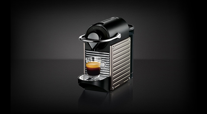 Die Pixie Electric Titan Krups Nespresso Maschine