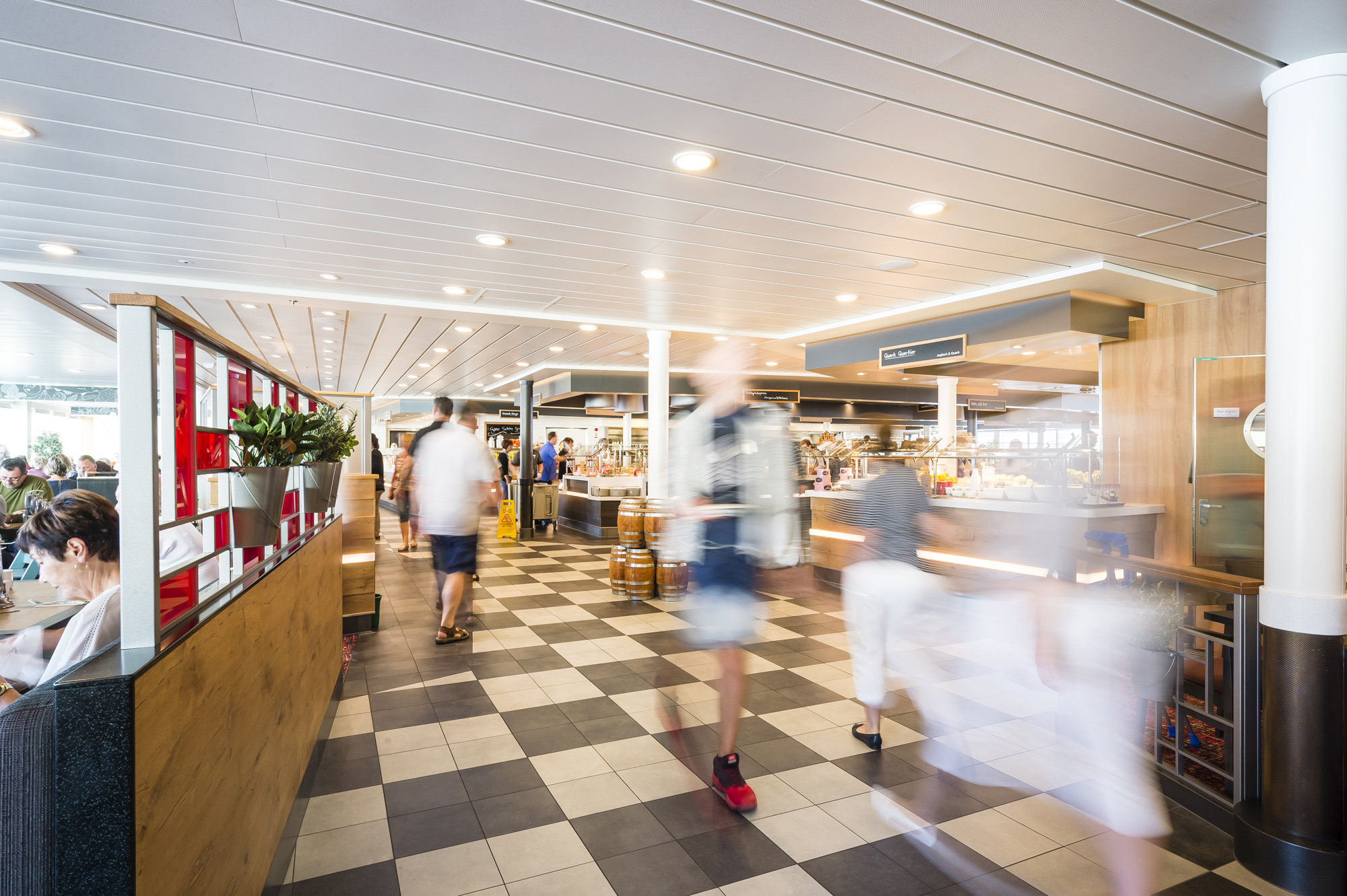 Das Buffetrestaurant Anckelmannsplatz auf der Mein Schiff 5