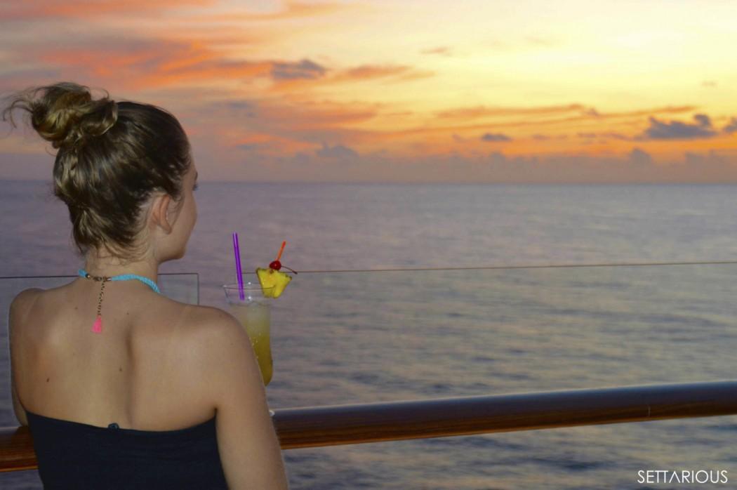 Gastautorin Melanie Settarius auf der Mein Schiff 4