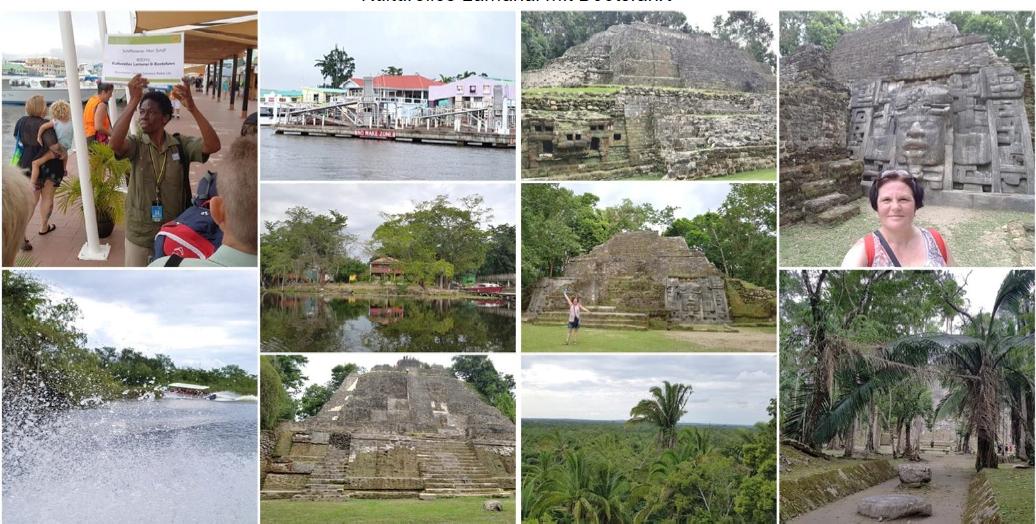Belize: Kulturelles Lamanai mit Bootsfahrt