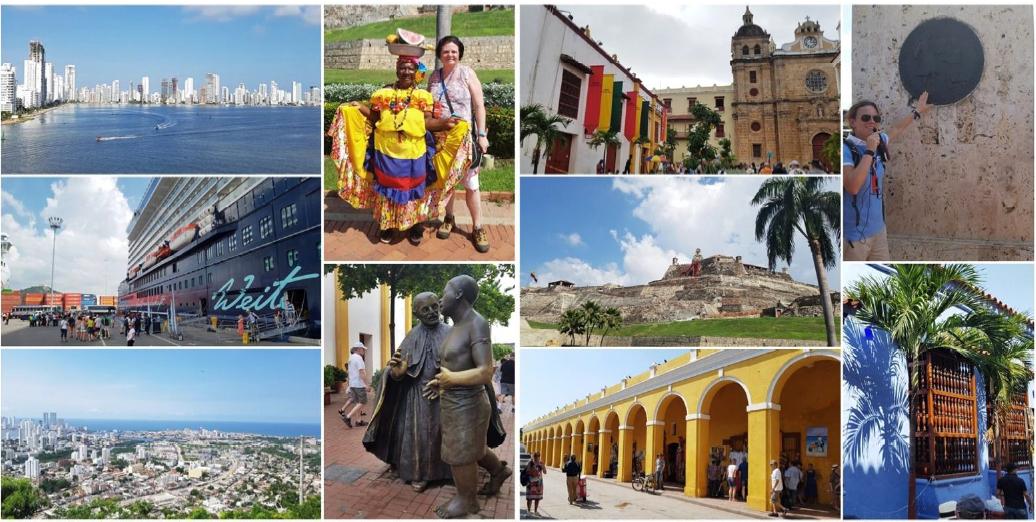 Cartagena/Kolumbien: Große Stadtrundfahrt mit Besuch von La Popa und Spaziergang durch die Innenstadt