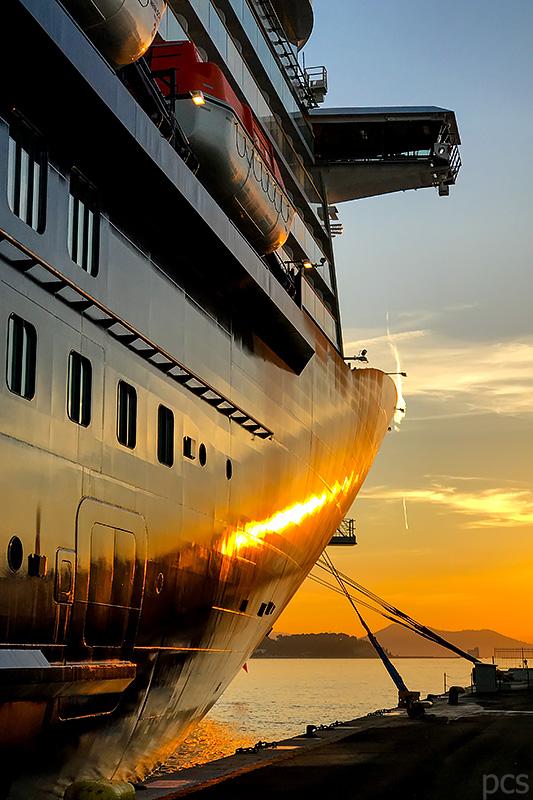 Immer der Sonne hinterher - das ist Kreuzfahrt