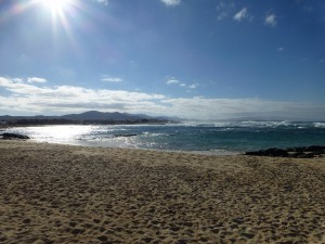 Strand bei El Cotillo