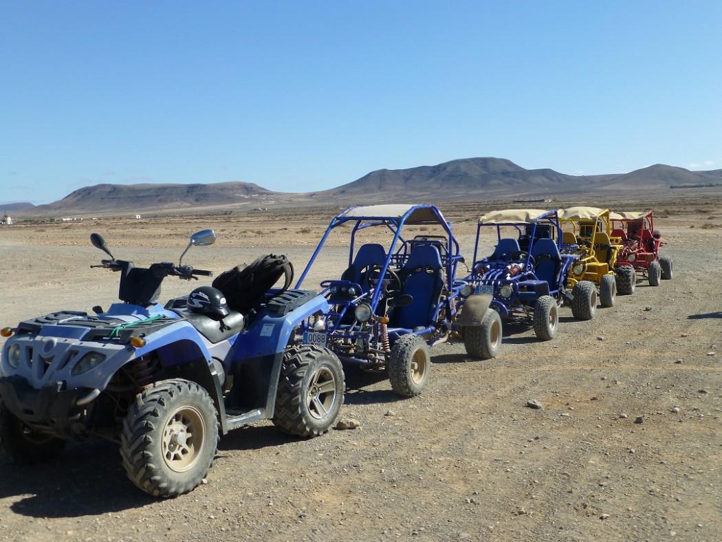 Mein Schiff Ausflug: Fuerteventura per Quad oder Buggy erkunden
