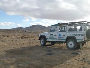 Jeeptour über die Insel Fuerteventura