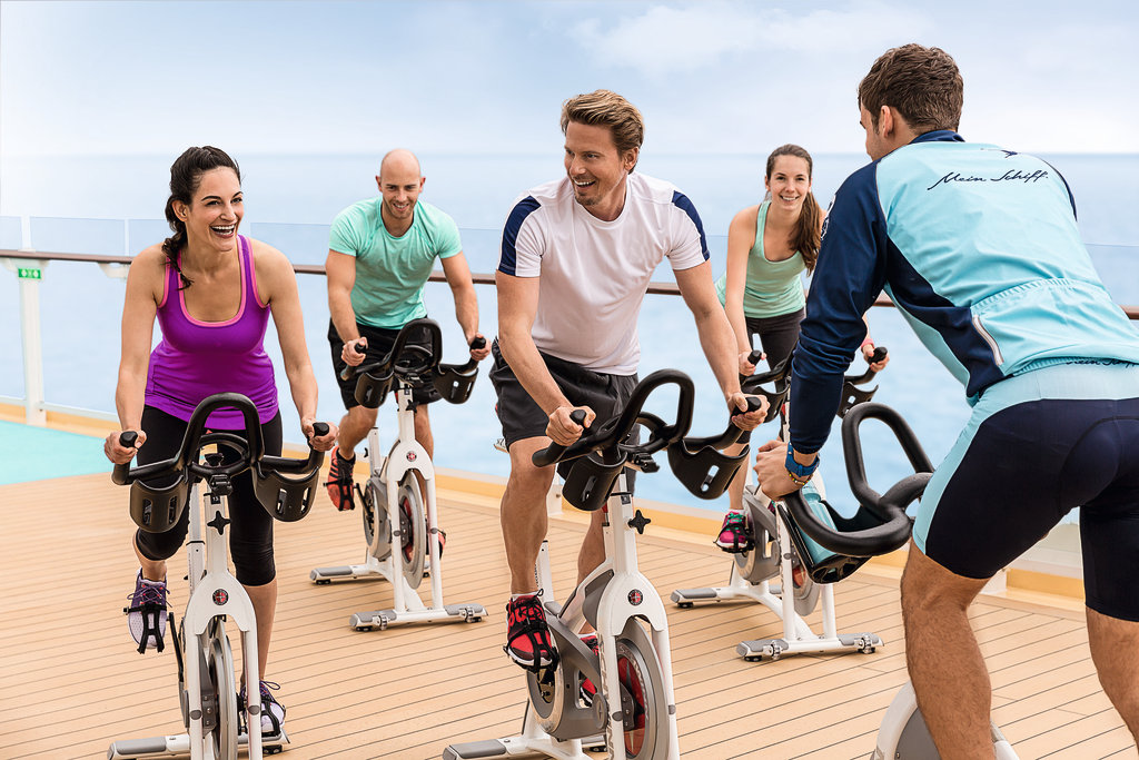 Cycle-Training auf der Mein Schiff Flotte