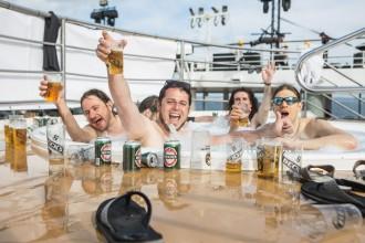 45.000 Dosen Bier wurden während der Full Metal Cruise getrunken