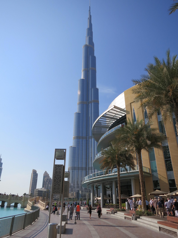 Das Burj Khalifa - eines der höchsten Gebäude der Welt