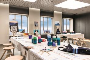 Hereinspaziert: Das Atelier der Mein Schiff 4