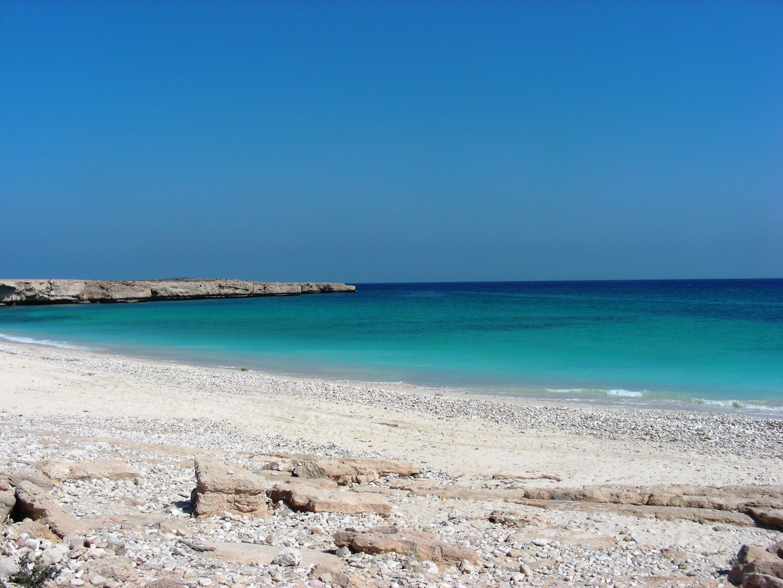 Endlose Sandstrände bietet das Mein Schiff Reiseziel Muscat