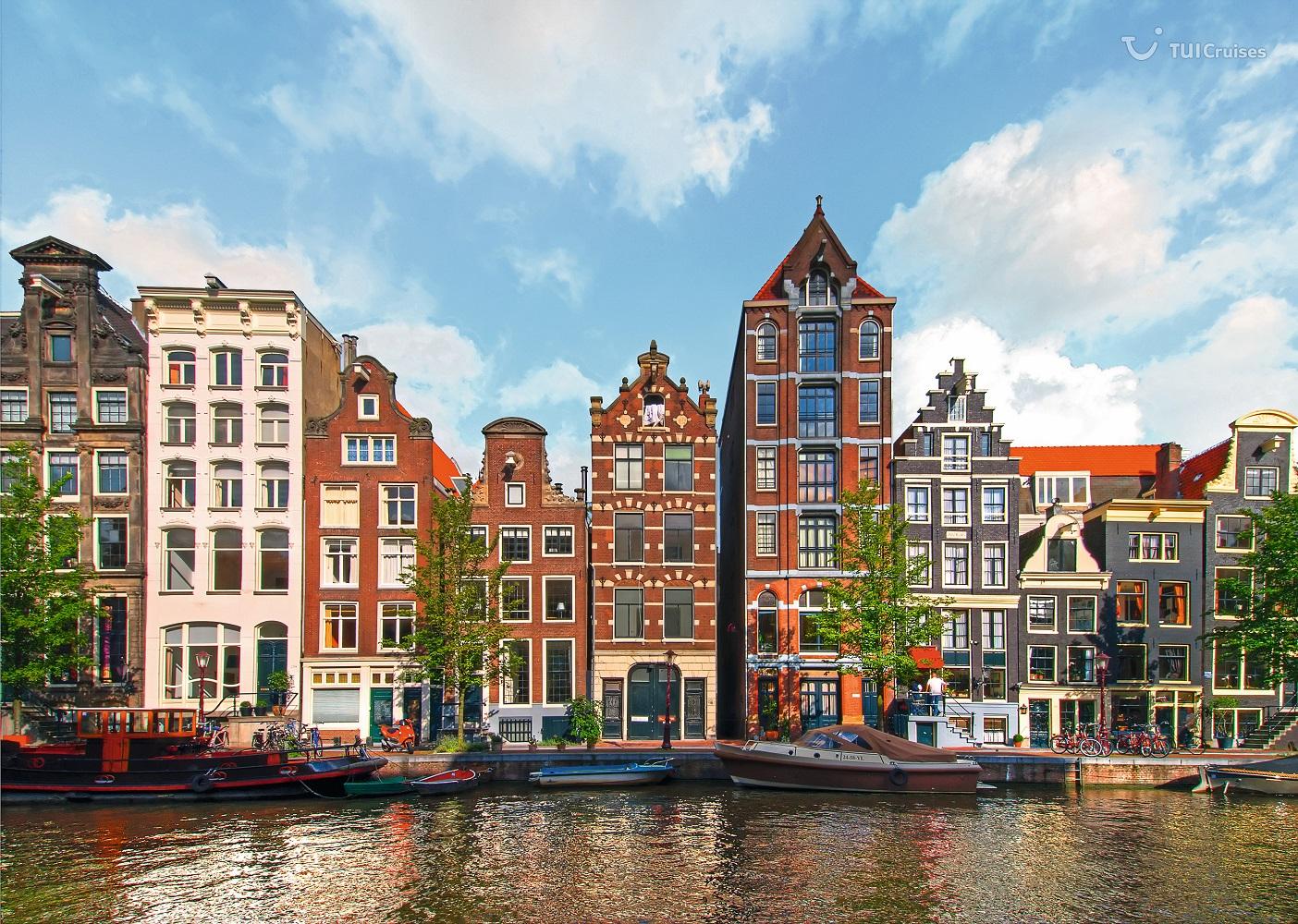 Herengracht Kanal in Amsterdam