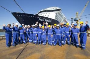 Alle Mann an Bord – Crew auf der Mein Schiff 6 kommt an