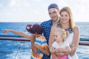 Reisebericht: TV Moderatorin Nina Bott und Familie an Bord der Mein Schiff 4