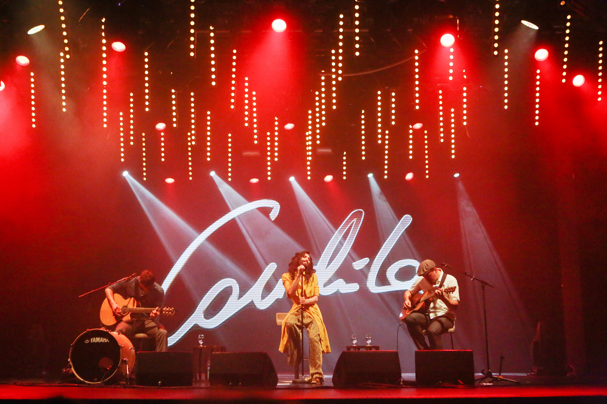 Conchita in concert auf der Mein Schiff 2
