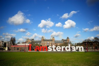 Museumplein in Amsterdam